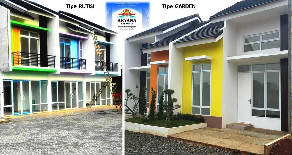 The vibrant art of #ARYANAKARAWACI Perumahan cluster di Karawaci Tangerang