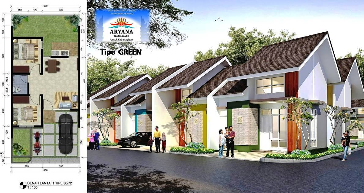 LIANIE 0819 0629 8988 GREEN ARYANA KARAWACI rumah Karawaci Tangerang