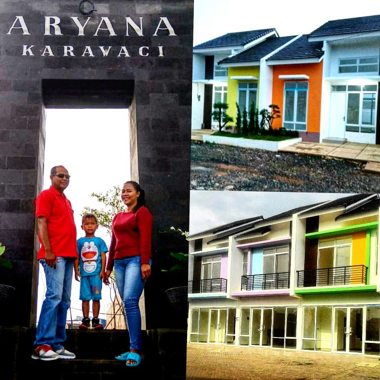 ARYANA Karawaci rumah Tangerang