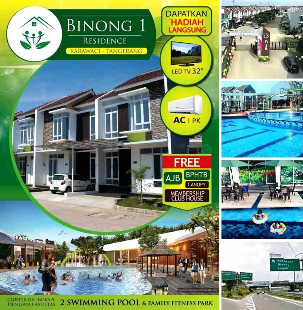BINONG 1 RESIDENCE rumah Tangerang Karawaci hubungi : LIANIE 0819 0629 8988