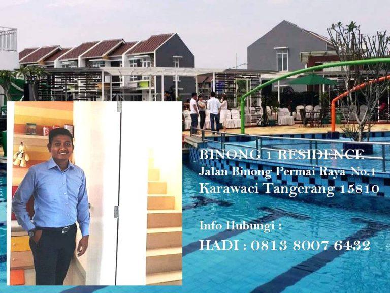 HADI hp/WA 81380076432 rumah Tangerang BINONG 1
