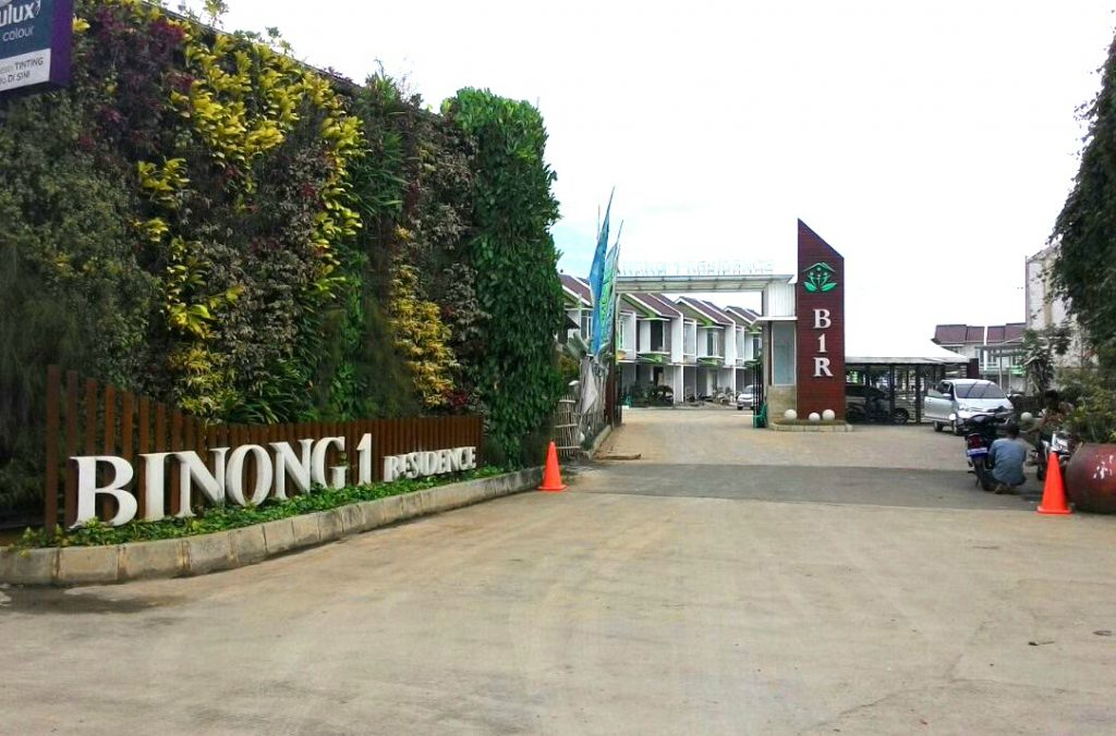 Lokasi BINONG 1 RESIDENCE didepan Perumahan Binong PERMAI Jalan Raya Binong Permai No.1, Karawaci Tangerang.