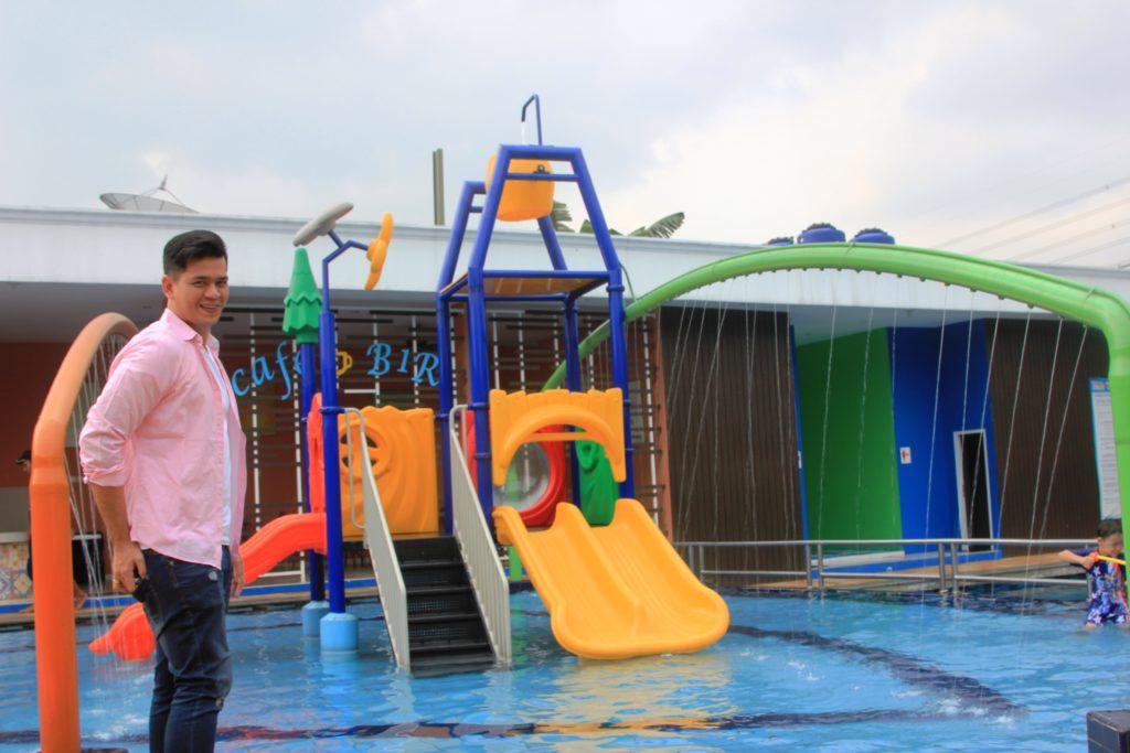 Kolam Renang B1R di perumahan Binong 1 Residence Tangerang Karawaci