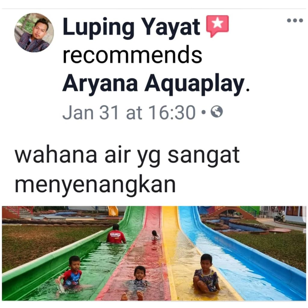 ARYANA AQUAPLAY olah raga dan main air