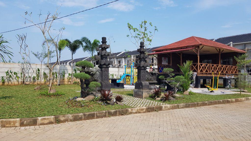 Taman Bermain dan Taman Olah Raga disetiap Cluster