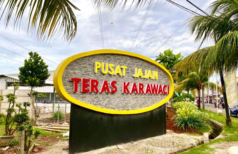 TERAS KARAWACI  info: Lianie 0819 0629 8988